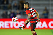 Flamengo midfielder Para (21) in action during a Florida Cup match at Orlando City Stadium on Jan. 10, 2019 in Orlando, Florida. <br /> Flamengo won in penalties 4-3.<br /> <br /> ©2019 Scott A. Miller