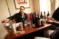 professional wine tasters in Paris - photograph by Owen Franken