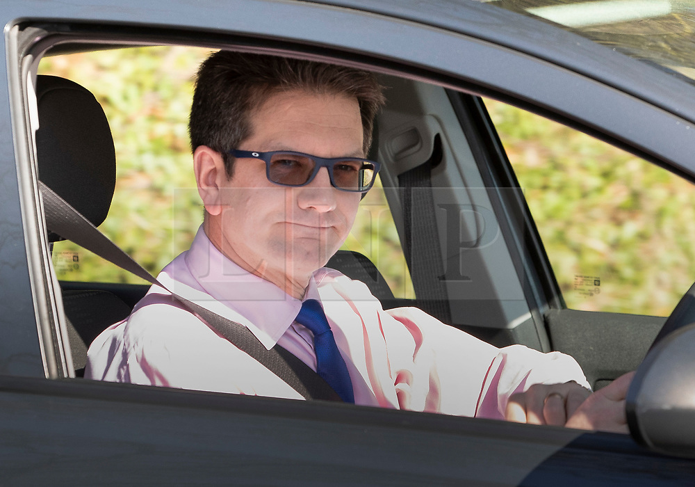 © Licensed to London News Pictures. 24/03/2019. Chequers , UK. Steve Baker MP arrives at Chequers for a meeting with the Prime Minister. There have been reports of a cabinet revolt against Prime Minister Theresa May, over her handing of the Brexit negotiations. Photo credit: Peter Macdiarmid/LNP
