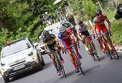 Enrico Salvador (ITA) of Tirol Cycling Team, Tomas Buchacek (CZE) of Elkov-Author Cycling team, Ivan Santaromita (ITA) of Nippo-Vini Fantini, Gorazd Per (SLO) of KK Adria Mobil during Stage 2 of 24th Tour of Slovenia 2017 / Tour de Slovenie from Ljubljana to Ljubljana (169,9 km) cycling race on June 16, 2017 in Slovenia. Photo by Vid Ponikvar / Sportida