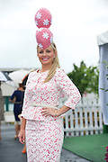 01/08/2013   Laura Kilcoyne Tipperary at the Anthony Ryan's Best Dressed on Ladies day at the Galway Races . Picture:Andrew Downes
