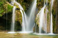 Cascade of Tufs,  Arbois, Jura, Franche-Comté, France
