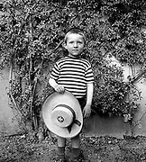 French boy aged five photographed circa 1910
