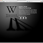 2012011801-Wikipedia goes dark in protest against SOPA and PIPA