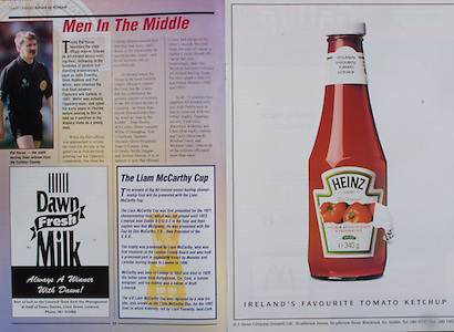 All Ireland Senior Hurling Championship - Final,.01.09.1996, 09.01.1996, 1st September 1996,.01091996AISHCF, .Wexford v Limerick,.Wexford 1-13, Limerick 0-14,.Heinz, Dawn Fresh Milk, The Liam McCarthy Cup,