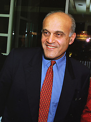 PROF.SIR MAGDI YACOUB the leading heart surgeon, at a party in London on 27th November 1997.MDU 44