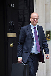 © licensed to London News Pictures. London, UK 03/09/2013. Chris Grayling, Secretary of State for Justice attending the Cabinet meeting in Downing Street on Tuesday, September 3, 2013. Photo credit: Tolga Akmen/LNP