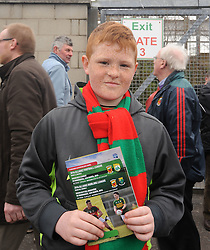Acie Noonan from Westport at McHale park for the Mayo v Kerry national football league encounter. Pic Conor McKeown