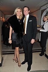 NADJA SWAROVSKI and RUPERT ADAMS at the Harper's Bazaar Women of the Year Awards 2011 held at Claridge's, Brook Street, London on 7th November 2011.