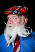 09.02.2017 - Coney Island Mustache/Beard Competition. By Erica Price.  Jim Daly (from Philly) (Freestyle Santa Beard) (Best styled beard winner)