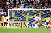 LUBLIN, POLEN 2017-06-19<br /> Dawid Kownacki g&ouml;r 2-2 p&aring; straff under UEFA U21 matchen mellan Polen och Sverige den 19 juni p&aring; Arena Lublin, Polen.<br /> Foto: Nils Petter Nilsson/Ombrello<br /> Fri anv&auml;ndning f&ouml;r kunder som k&ouml;pt U21-paketet.<br /> Annars Betalbild.<br /> ***BETALBILD***