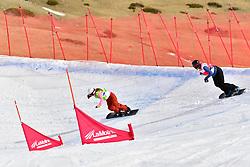 GARTTENER Anne, SB-LL2, NED, van BEEK Renske, Snowboard Cross at the WPSB_2019 Para Snowboard World Cup, La Molina, Spain