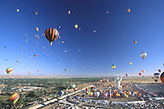 Mass ascension at Balloon Fiesta