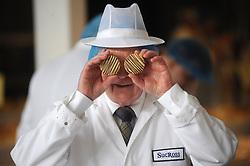 Scottish Bakery Awards_Dunfermline Blcc_17-04-2019<br /> <br /> Making a spectical while judging the baking<br /> <br /> (c) David Wardle | Edinburgh Elite media