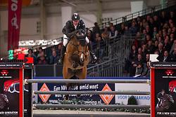 Vrieling Jur, (NED), Carrera VDL<br /> Grote Prijs Springen<br /> KWPN Hengstenkeuring - 's Hertogenbosch 2016<br /> © Hippo Foto - Dirk Caremans<br /> 04/02/16