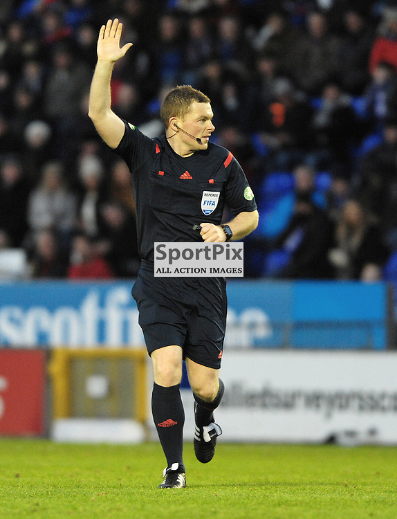 Referee John Beaton<br /> <br /> Inverness Caledonian Thistle v Ross County, Ladbroke's Premiership, Saturday 2nd January 2016<br /> <br /> (c) Alex Todd | SportPix.org.uk