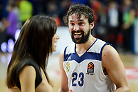 Real Madrid's player Sergio Llull during match of Turkish Airlines Euroleague at Barclaycard Center in Madrid. November 16, Spain. 2016. (ALTERPHOTOS/BorjaB.Hojas)