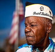 03 NOVEMBER 2011 - PEORIA, AZ: Nelson Mitchell, 91, at his home in Peoria, AZ. He is the last surviving African-American veteran of Pearl Harbor.    PHOTO BY JACK KURTZ