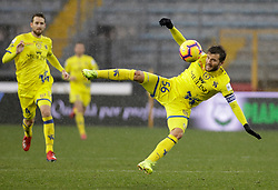 03.02.2019, Stadio Carlo Castellani, Empoli, ITA, Serie A, Empoli FC vs Chievo Verona, 22. Runde, im Bild Perparim Hetemaj in azione // Perparim Hetemaj in action during the Seria A 22th round match between Empoli FC and Chievo Verona at the Stadio Carlo Castellani in Empoli, Italy on 2019/02/03. EXPA Pictures © 2019, PhotoCredit: EXPA/ laPresse/ Marco Bucco<br /> <br /> *****ATTENTION - for AUT, SUI, CRO, SLO only*****