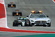 October 23-25, 2015: United States GP 2015: Safety car leads the field during the USGP