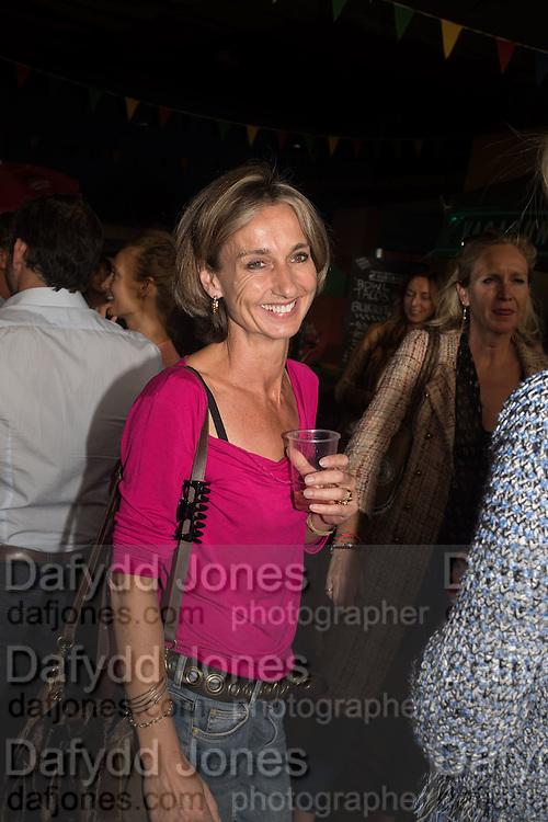 DAISY WAUGH, Rachel Johnson book launch of Fresh Hell, Acklam Village Market, Acklam Rd. London W10.
