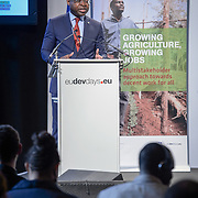 04 June 2015 - Belgium - Brussels - European Development Days - EDD - Jobs - Growing agriculture , growing jobs - The private sector on the spot - Viwanou Gnassounou ,<br /> Assistant Secretary General - ACP Secretariat &copy; European Union