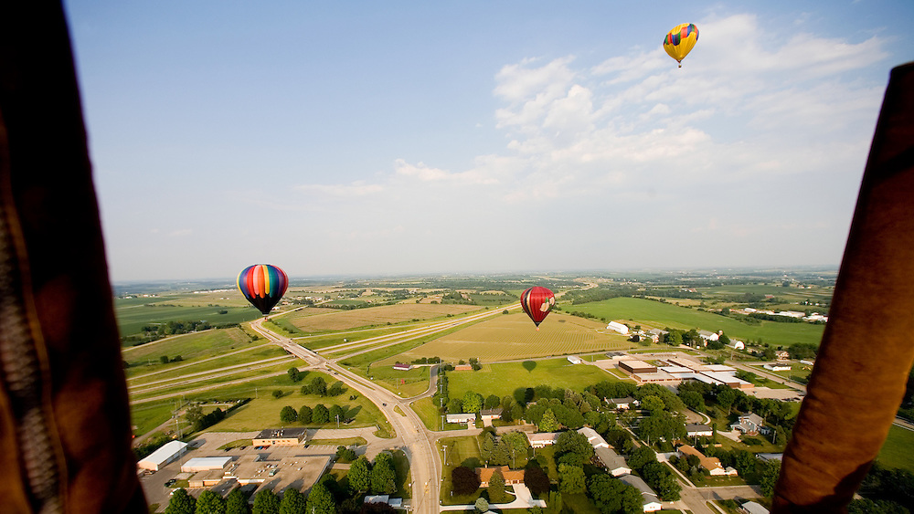 The 22nd Annual Monroe Balloon Festival offers numerous balloon launches and features leading balloon pilots from the Midwest