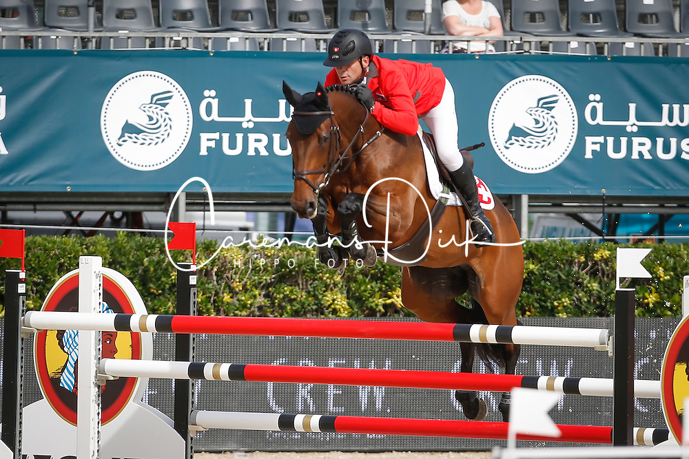 Estermann Paul (SUI) - Castlefield Eclipse<br /> Furusiyya FEI Nations Cup Jumping Final Round 1<br /> CSIO Barcelona 2013<br /> © Dirk Caremans