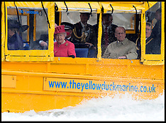 The Queen on Duck boat