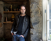 Portrait of actor, Duncan Lacroix who plays the character Murtagh in Outlander.