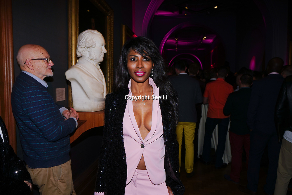 Sinitta attend the Gay Times Honours on 18th November 2017 at the National Portrait Gallery in London, UK.