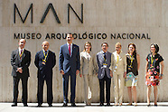 061214 Spanish Royals attends Exhibition at Archaeological Museum