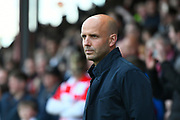 Exeter City manager Paul Tisdale during the EFL Sky Bet League 2 play off second leg match between Exeter City and Carlisle United at St James' Park, Exeter, England on 18 May 2017. Photo by Graham Hunt.