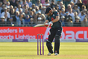 Jonny Bairstow of England batting during the third Royal London One Day International match between England and Pakistan at the Bristol County Ground, Bristol, United Kingdom on 14 May 2019.