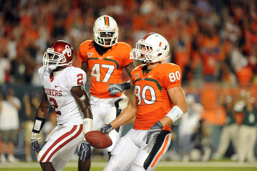 2009 Miami Hurricanes Football vs Oklahoma