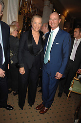 HRH PRINCESS MICHAEL OF KENT and HRH PRINCE DIMITRI OF YUGOSLAVIA at a reception to celebrate the launch of Prince Dimitri of Yugoslavia's one-of-a-kind jeweleery collection held at Partridge Fine Art, 144-146 New Bond Street, London on 11th June 2008.<br />