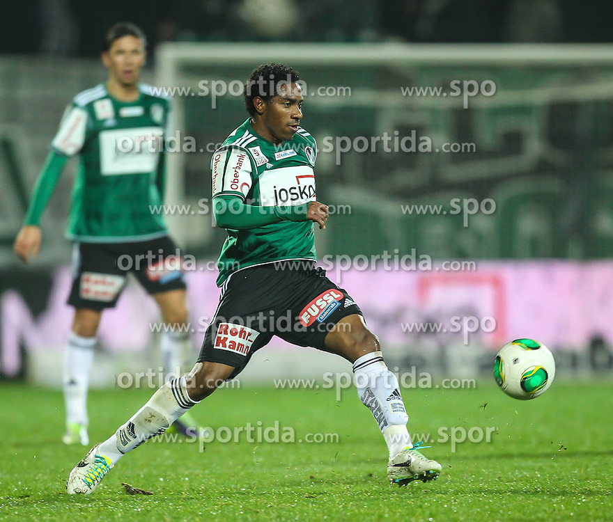23.11.2013, Keine Sorgen Arena, Ried im Innkreis, AUT, 1. FBL, SV Josko Ried vs FC Admira Wacker Moedling, 16. Runde, im Bild Sandro Jose Da Silva, (SV Josko Ried, #10) // during Austrian Football Bundesliga Match, 16th round, between SV Josko Ried and FC Admira Wacker Moedling at the Keine Sorgen Arena, Ried im Innkreis, Austria on 2013/11/23. EXPA Pictures © 2013, PhotoCredit: EXPA/ Roland Hackl