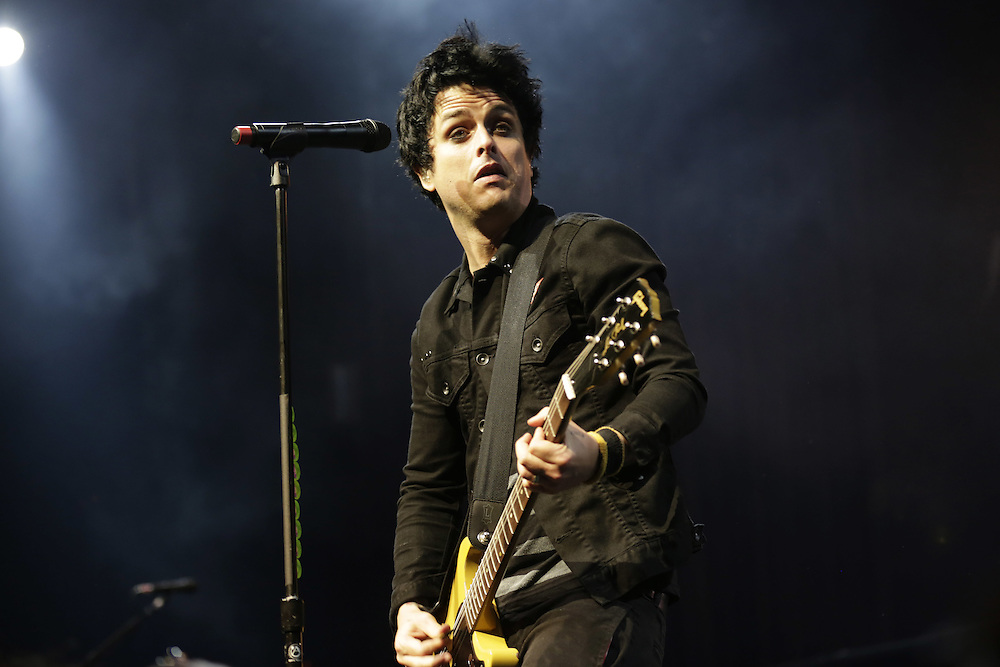 Green Day - Billie Joe Armstrong, performing at the 47th Montreux Jazz Festival, Switzerland.