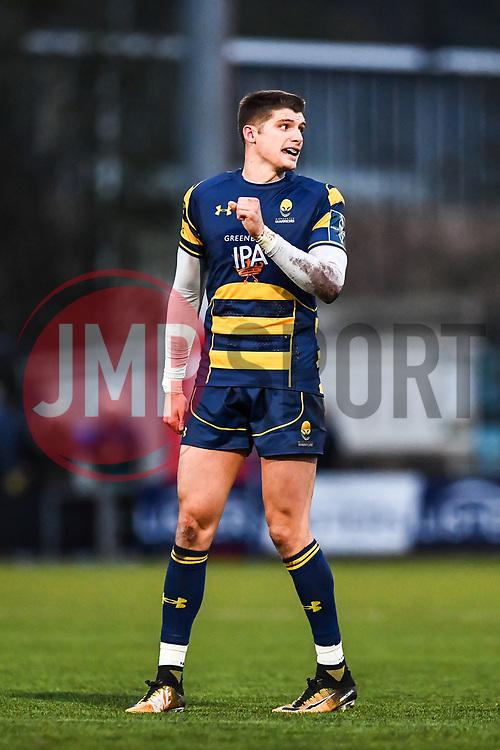 Ben Howard of Worcester Warriors - Mandatory by-line: Craig Thomas/JMP - 27/01/2018 - RUGBY - Sixways Stadium - Worcester, England - Worcester Warriors v Exeter Chiefs - Anglo Welsh Cup