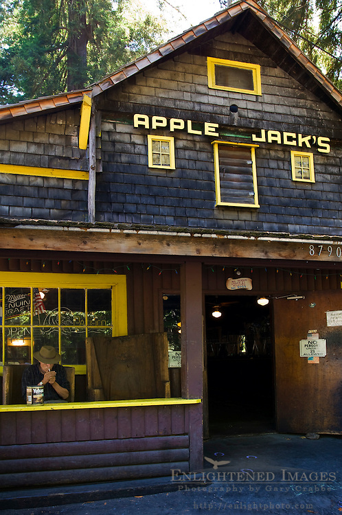 Apple Jacks country bar, La Honda, San Mateo County, California