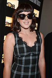 ALEXANDRA ROACH at the SportMax + Cutler & Gross launch party hosted by Leigh Lezark at The Arts Club, 40 Dover Street, London on 23rd October 2013.