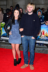 James Buckley attends Muppets Most Wanted VIP film screening of sequel to last year's comedy, which sees the return of the Muppets as they embark on a global tour, getting caught up in an international crime caper at Curzon Mayfair, London, United Kingdom. Monday, 24th March 2014. Picture by Nils Jorgensen / i-Images