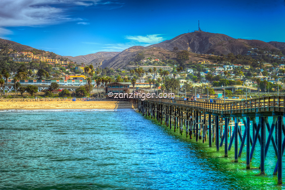 Ventura, CA, Wooden Pier, Scenic, beautiful, Pacific Ocean, Waves, Pier, Wood Planks