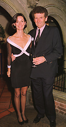 MR & MRS HAROLD CUDMORE, he is the yachtsman, at a party in London on 23rd November 1998.MMH 15