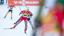 14.12.2013, Nordische Arena, Ramsau, AUT, FIS Nordische Kombination Weltcup, Langlauf Teamsprint, im Bild Magnus Krog (NOR) // Magnus Krog (NOR) during Team Sprint Cross Country of FIS Nordic Combined <br /> World Cup, at the Nordic Arena in Ramsau, Austria on 2013/12/14. EXPA Pictures © 2013, EXPA/ JFK