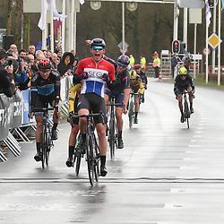 29-02-2020: Wielrennen: Ster van Zwolle: Zwolle <br />Nederlands Beloftenkampioen David Dekker wint de 60e Ster van Zwolle voor Olav Kooij en Coen Vermeltfoort