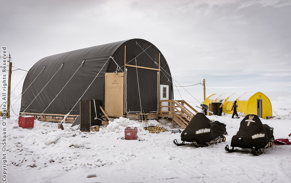 SIMPLE camp, and an innocent looking Polar Haven tent. There is a LOT going on inside.