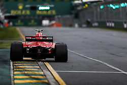 March 24, 2018 - Melbourne, Victoria, Australia - RAIKKONEN Kimi (fin), Scuderia Ferrari SF71H, action during 2018 Formula 1 championship at Melbourne, Australian Grand Prix, from March 22 To 25 - s: FIA Formula One World Championship 2018, Melbourne, Victoria : Motorsports: Formula 1 2018 Rolex  Australian Grand Prix, (Credit Image: © Hoch Zwei via ZUMA Wire)