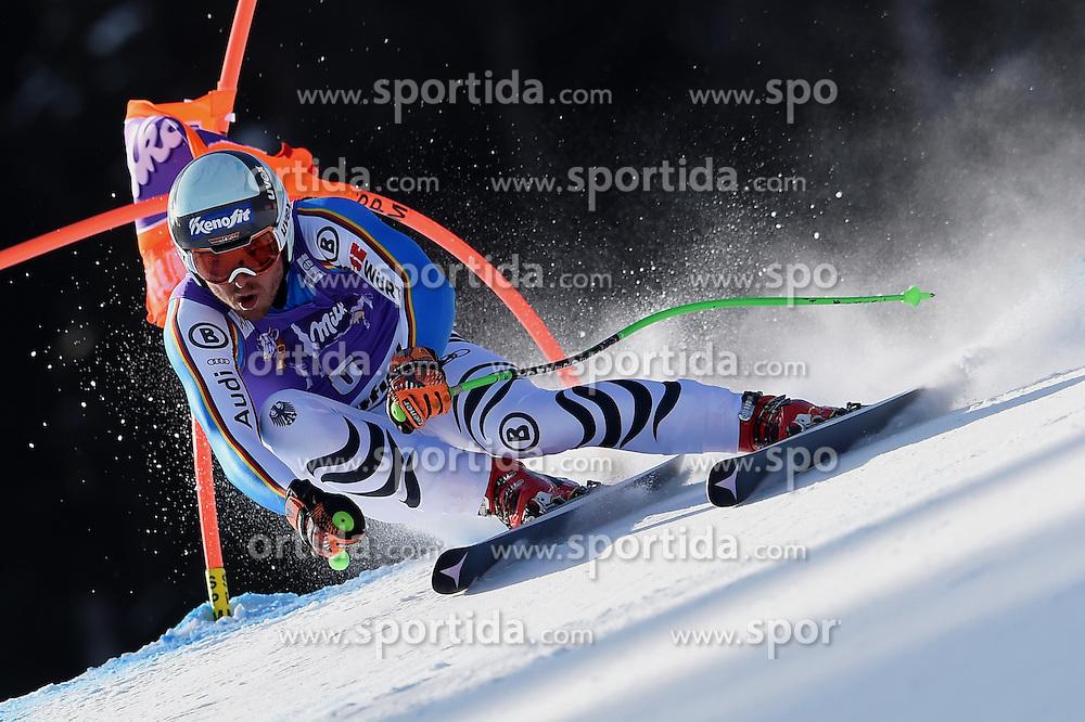 12.03.2016, Olympiabakken, Kvitfjell, NOR, FIS Weltcup Ski Alpin, Kvitfjell, Abfahrt, Herren, im Bild Andreas Sander (GER) // Andreas Sander of Germany competes during his run for the men's Downhill of Kvitfjell FIS Ski Alpine World Cup at the Olympiabakken in Kvitfjell, Norway on 2016/03/12. EXPA Pictures © 2016, PhotoCredit: EXPA/ Jonas Ericsson