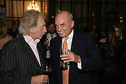 Nicholas Coleridge, 10th Anniversary of Conde Nast Traveller magazine. Foreign and Comonwealth Office. Durbar Court. 10 September 2007. -DO NOT ARCHIVE-© Copyright Photograph by Dafydd Jones. 248 Clapham Rd. London SW9 0PZ. Tel 0207 820 0771. www.dafjones.com.